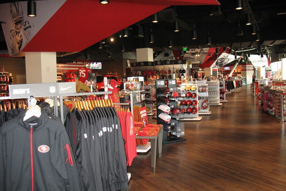 49ers fan store at Levi's Stadium