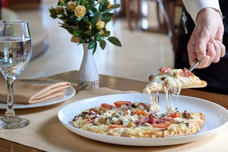 Pizza's the New Addition at Titania Hotel's La Brasserie Restaurant