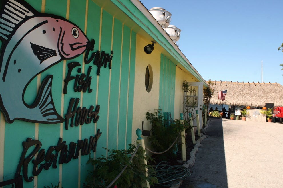 Capri fish house restaurant naples nightlife review for Fish restaurant naples
