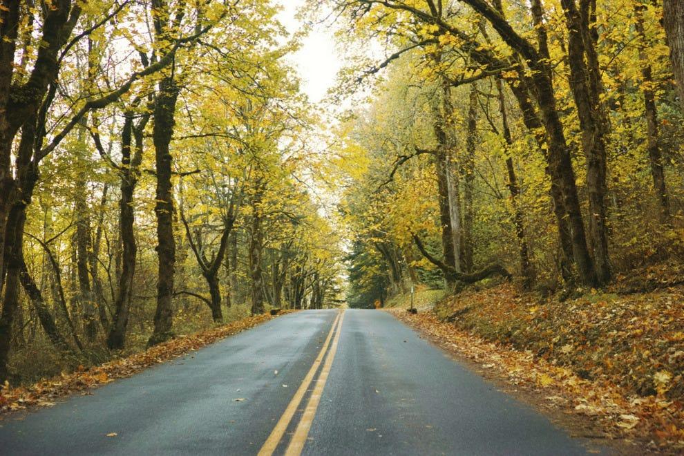 Vote Historic Columbia River Highway Best Scenic Autumn Drive Nominee 2015 10best Readers