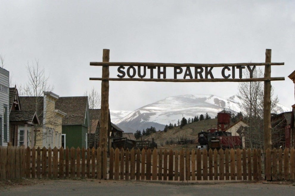 South Park City, not to be confused with South Park