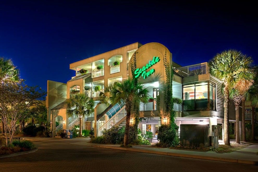 seaside inn oceanfront charleston hotels review 10best. Black Bedroom Furniture Sets. Home Design Ideas