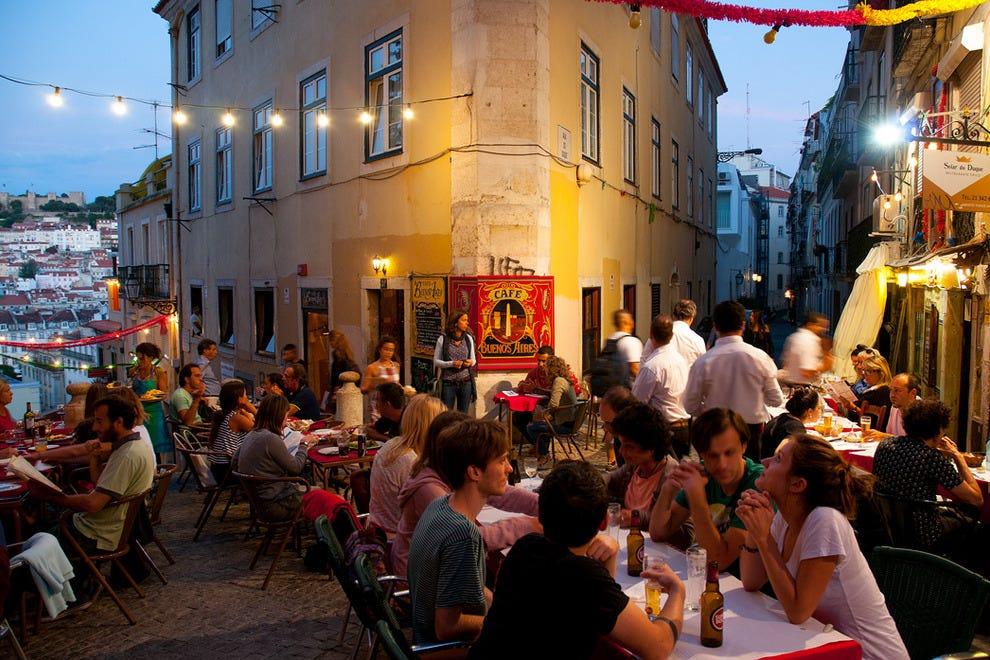 Cafe Buenos Aires Lisbon Menu