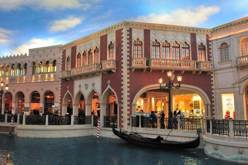 Grand Canal Shoppes at The Venetian | The Palazzo