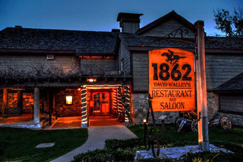 1862 David Walley's Restaurant and Saloon