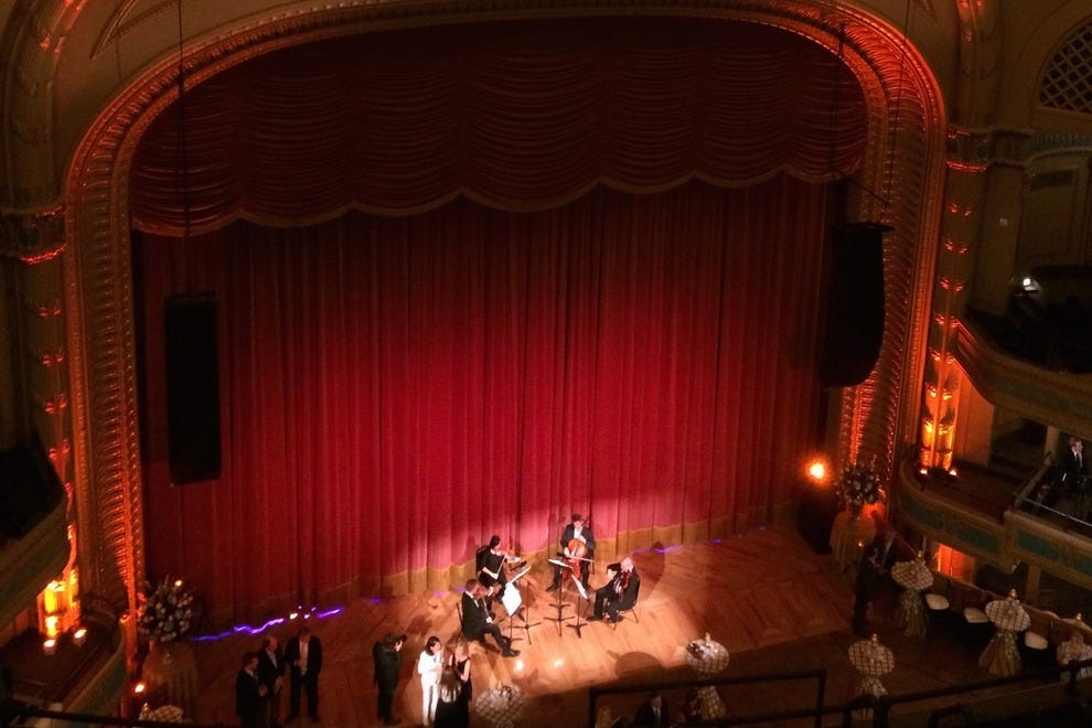 The Louisiana Philharmonic Orchestra is perfectly at home at the restored Orpheum