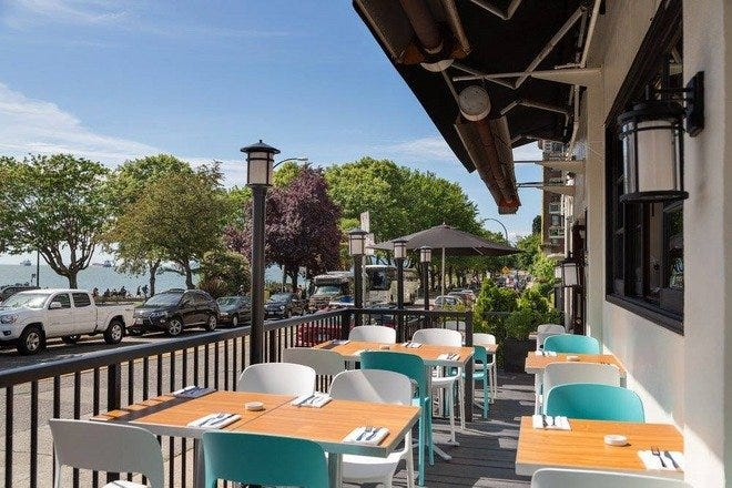 Waterfront Dining in Vancouver
