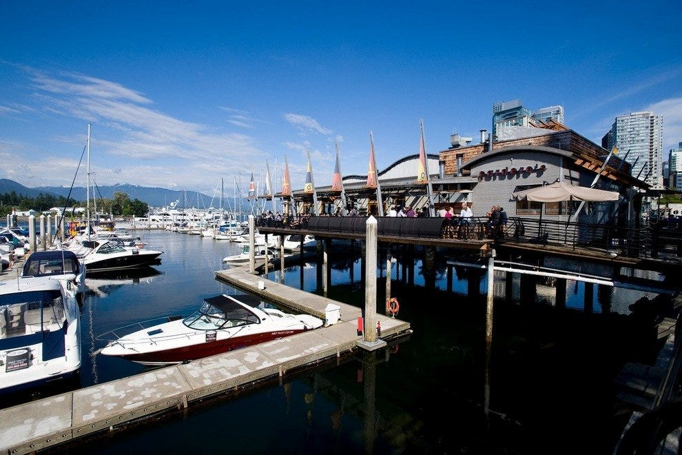 Restaurants Near Water Vancouver