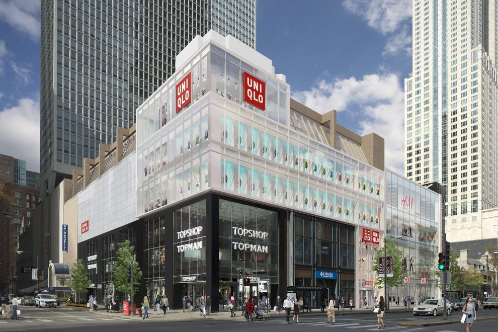 Uniqlo Chicago will open on a busy corner in downtown Chicago