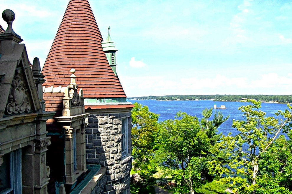 Boldt Castle in the 1,000 Islands near Alexandria, New York