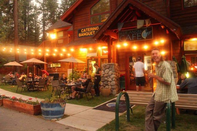 Cafe Blue Lake Tahoe