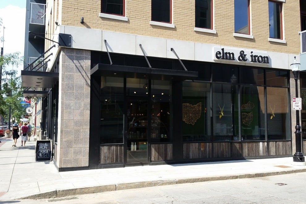 Elm & Iron is conveniently close to restaurants on Vine St.