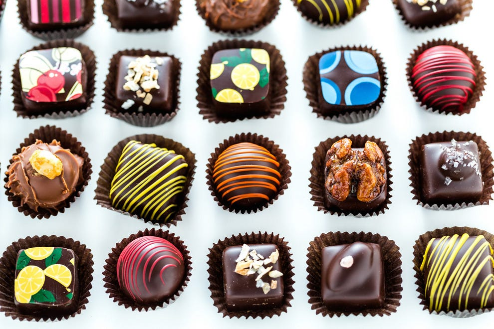 Piece, Love & Chocolate's beautiful, hand-crafted treats – perfect as gifts