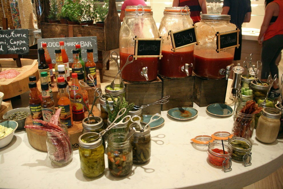 Maia's Bloody Mary bar