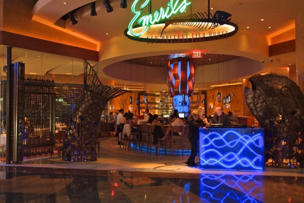 Emeril 39 s new orleans fish house las vegas restaurants for The fish house restaurant