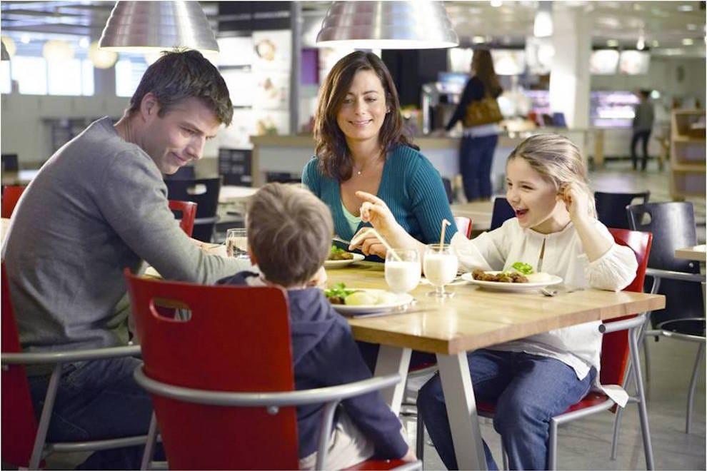 Ikea Restaurant.