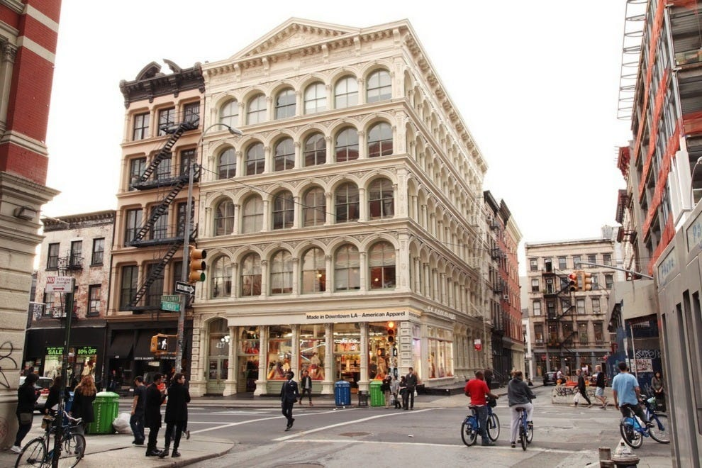 Things to do in soho new york neighborhood travel guide for Cultural things to do in nyc
