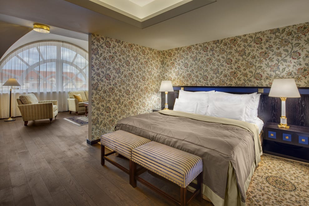 Prague luxury hotels in prague luxury hotel reviews 10best for Designhotel 54