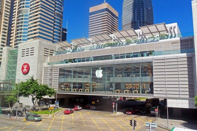 Shopping Malls and Centers in Hong Kong