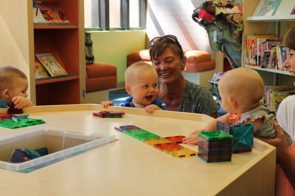 The Santa Barbara Children's Library is a delightful place to learn and play
