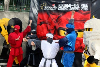 NINJAGO Land Opens at LEGOLAND California Resort