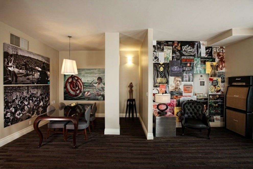 Music-lovers rock out in the EMP Suite