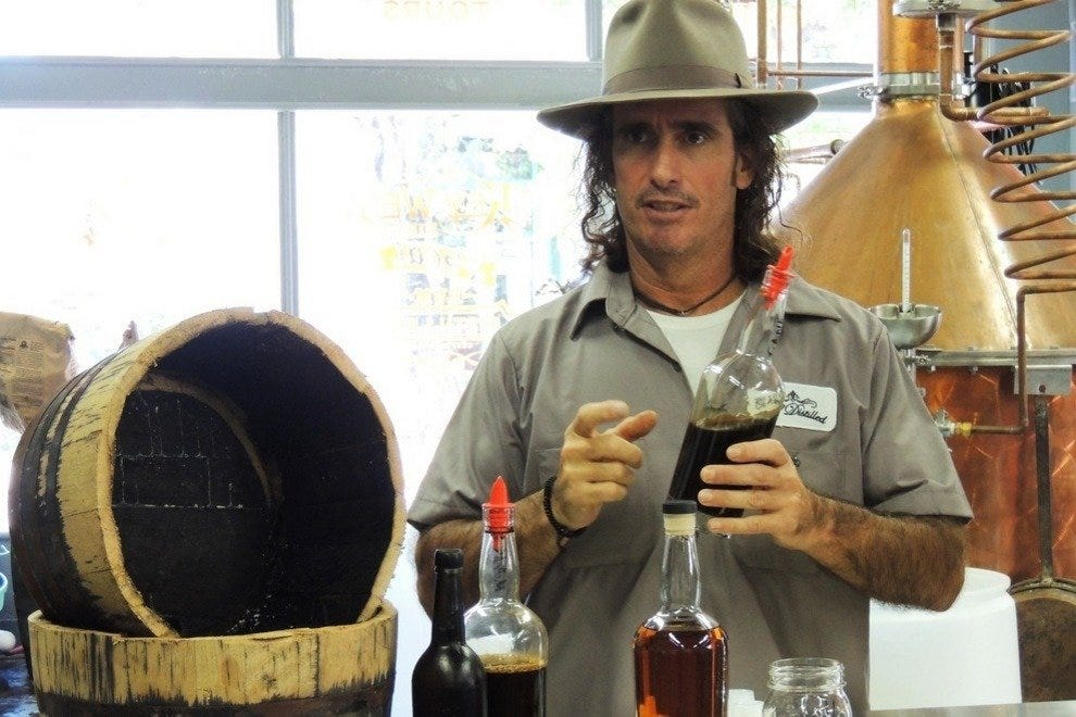 Tours of the distillery are offered daily