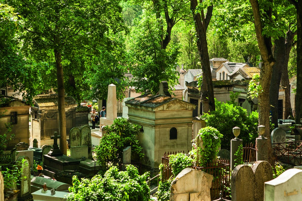 Spend the day with some of Paris' most famous characters buried in the Père Lachaise cemetery