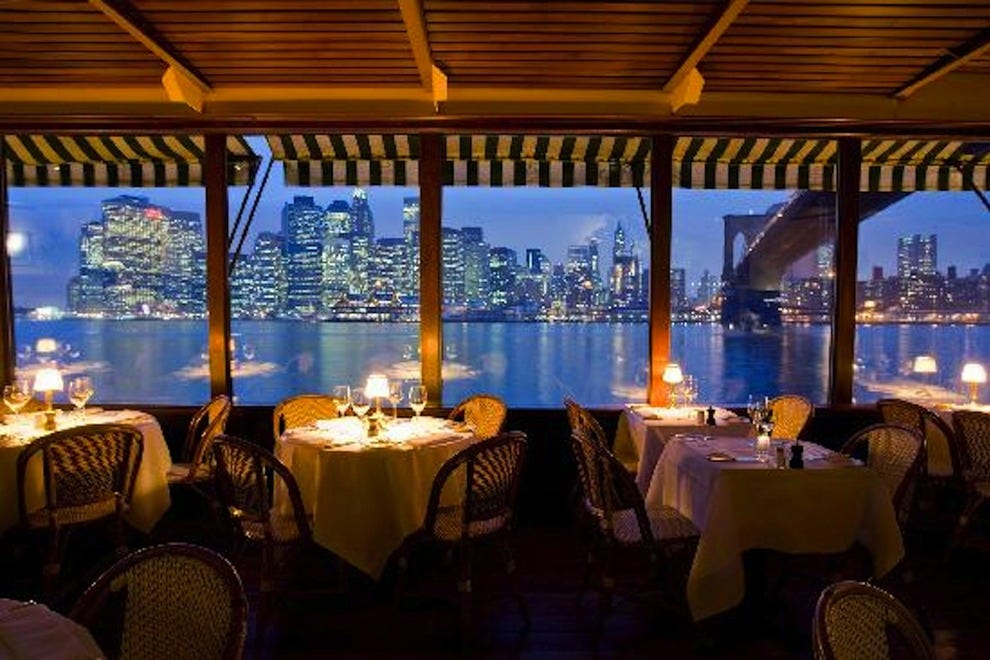River caf new york restaurants review 10best experts for Best restaurants with private dining rooms nyc