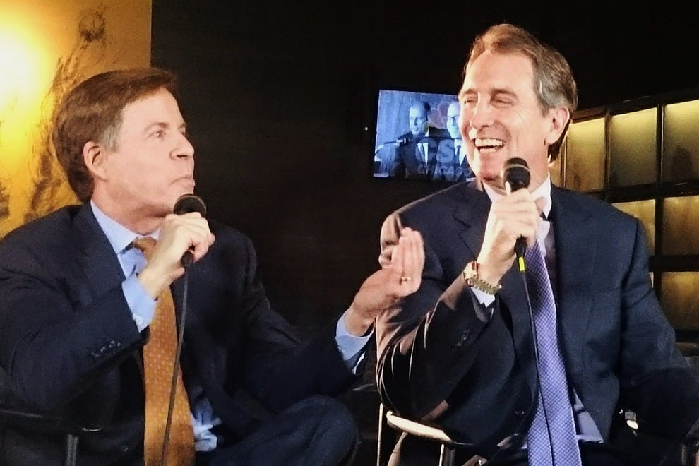 Bob Costas and Cris Collinsworth were among the NBC Sports celebrities on-hand for the big event