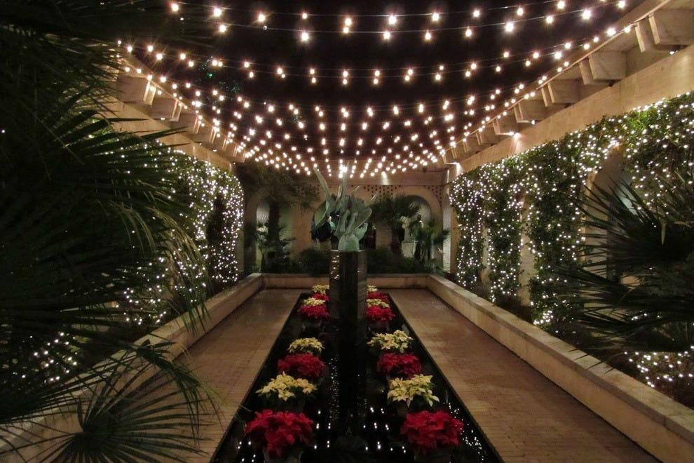 candlelit christmas photo courtesy of brookgreen gardens - Myrtle Beach Christmas Lights