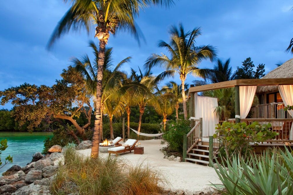 Private-island romance is closer than you think at Little Palm Island in the Florida Keys.