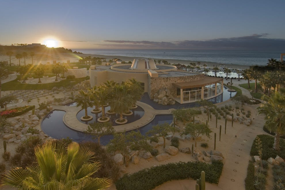 Sunsets are a daily gift at Pueblo Bonito Pacific Resort.
