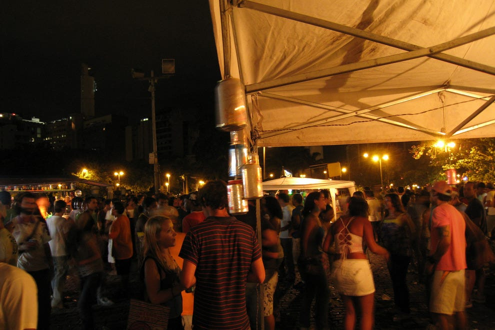 Rio's street parties attract a lively mix of revelers