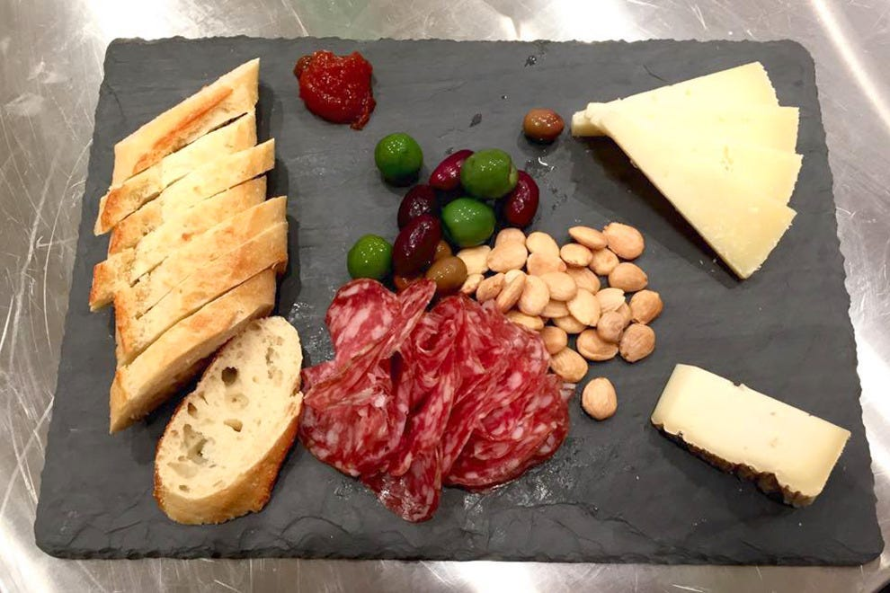 The Pink House specializes in cheeses and charcuterie