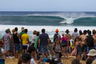 Watch the World's Best Surfers Compete on Oahu's North Shore