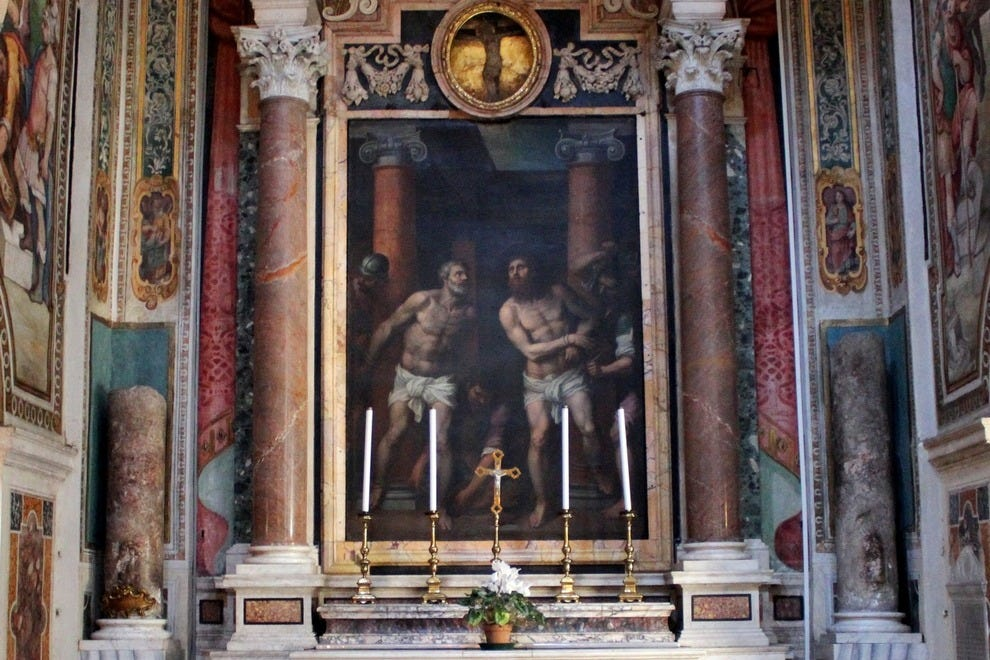 Scourging Pillars of Saints Peter and Paul