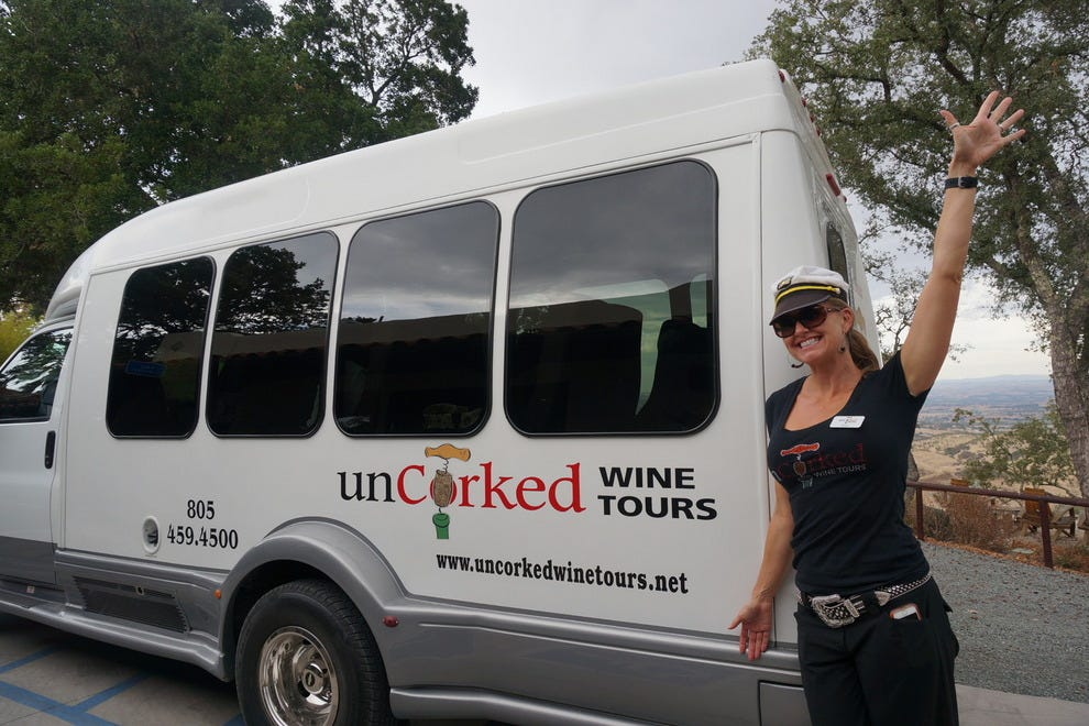 Uncorked Wine Tours offers reliable transit for your tasting tour