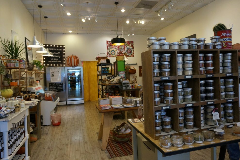 The General Store in downtown Paso Robles is stocked with local goodies