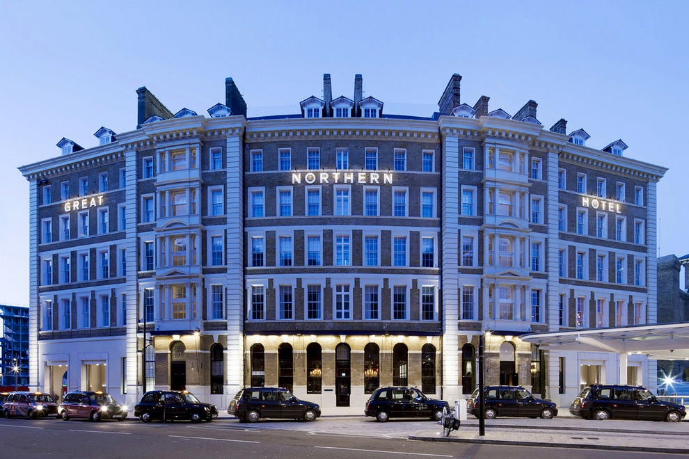 Great Northern Hotel sits at the hub of exciting London action