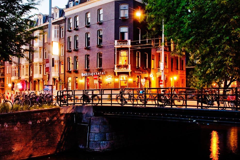 阿姆斯特丹后台酒店
