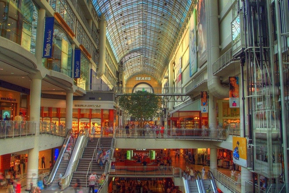 f3e2a85d26f Toronto Eaton Centre: Toronto Shopping Review - 10Best Experts and ...
