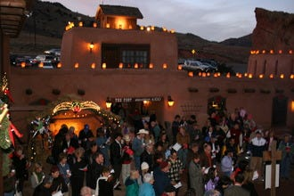 Celebrate the Season in Traditional Santa Fe Style