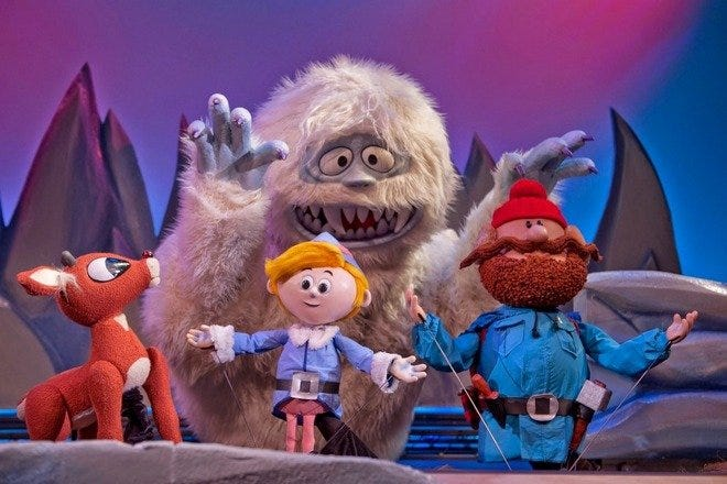 Rudolph the Red-Nosed Reindeer at Center for Puppetry Arts