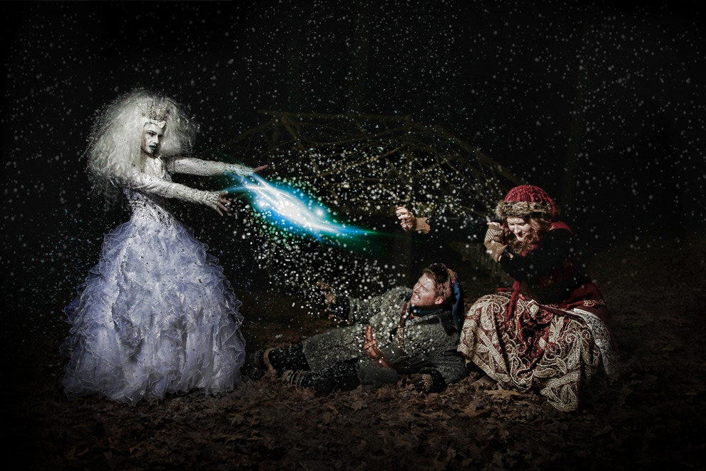 The Snow Queen at Serenbe Playhouse