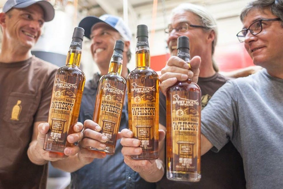 Cheers to great whiskey!