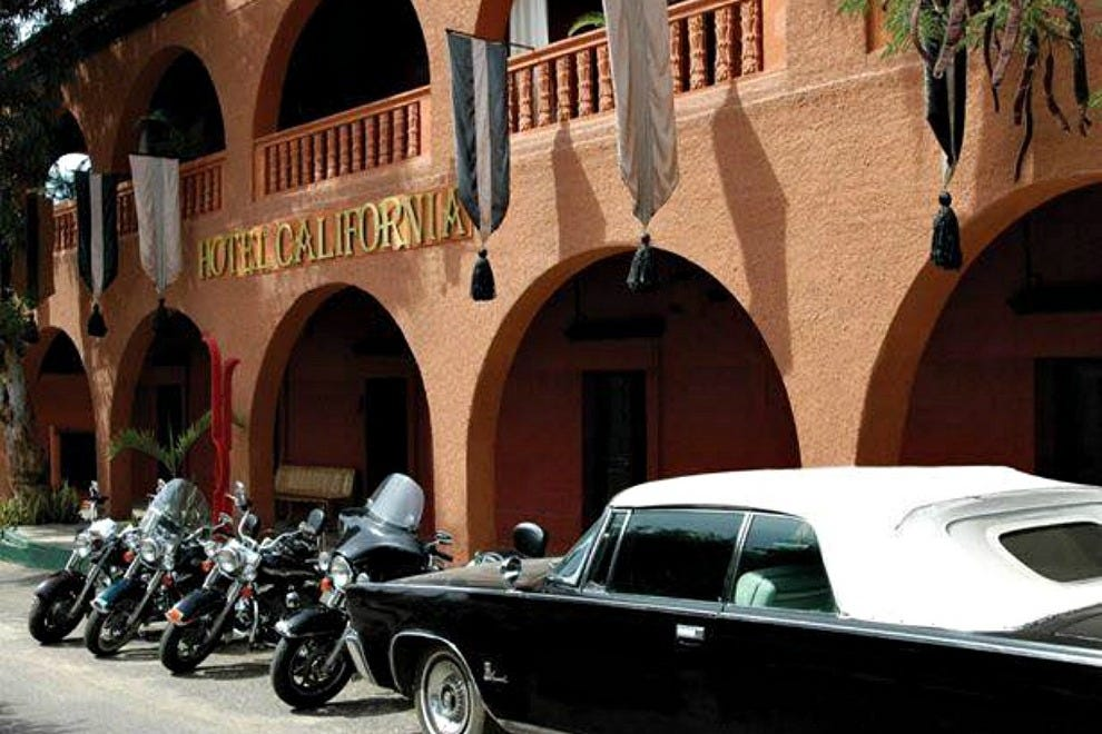 Hotel California is the primary performance venue for the Todos Santos Music Festival