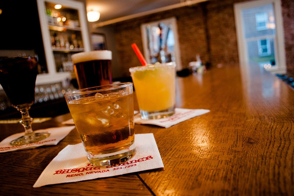 The Picon Punch at Louis' Basque Corner might just be the signature Reno drink