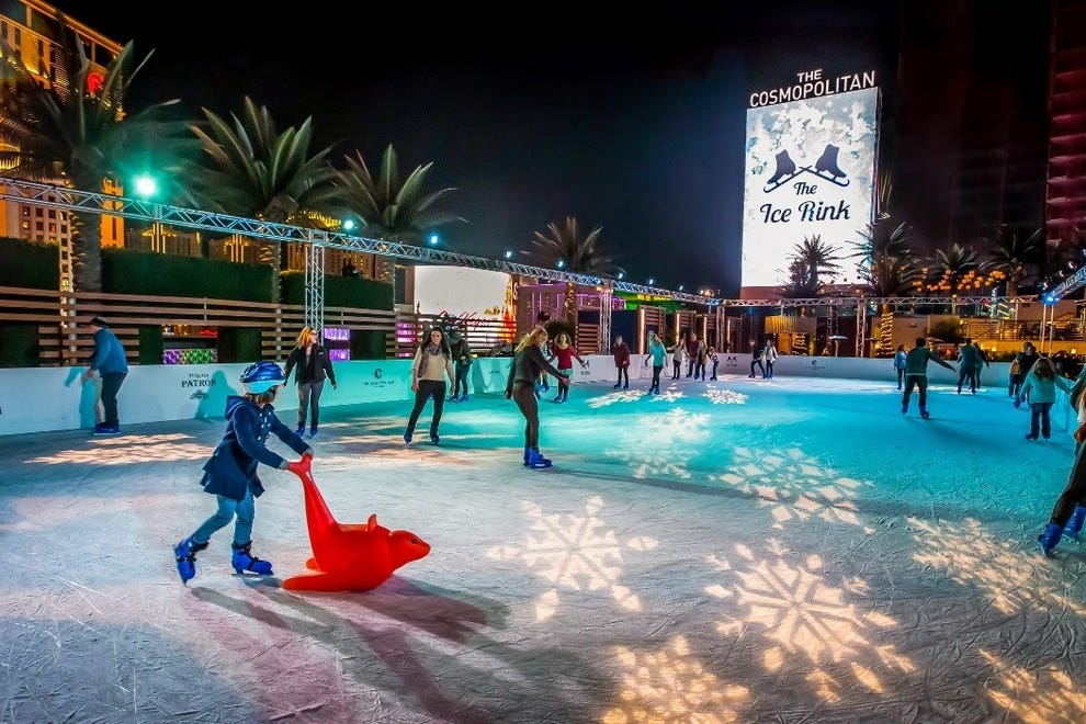 Ice Rink at The Cosmopolitan of Las Vegas