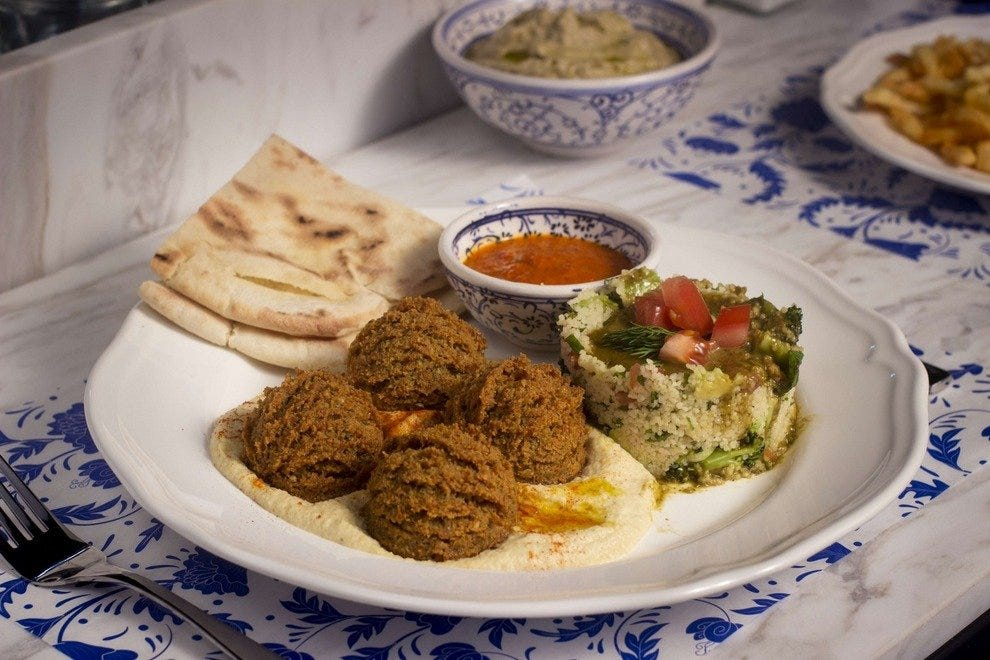 Baba Ghanoush Falafel Shop